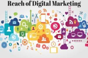 Reach of digital marketing