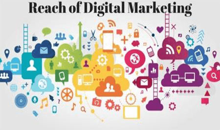 Reach of digital marketing