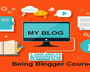 Be a Blogger course