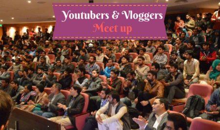 Youtubers & Vloggers meet up in Delhi