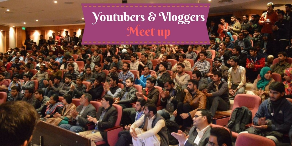 Youtubers vloggers meet Up in delhi