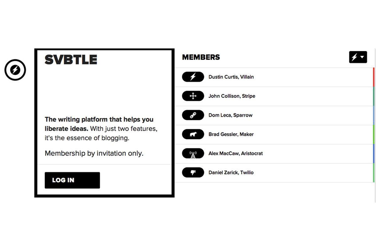 free blogging sites svbtle